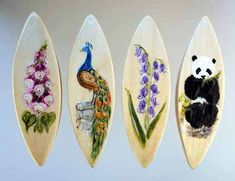 Aren't these the most beautiful tatting shuttles?