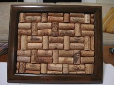 Another cork project I could do, cork board!