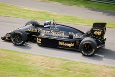 Senna JPS Lotus 98T. Not that successful but beautiful.