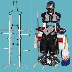 Wet-Gear-Locker-Hockey-and-Sports-Equipment-Dryer-Rack-Double-Metal-Storage
