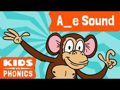 "Help your kids learn how the ""magic E"" works with the ""A_e"" phonic in this short video!"