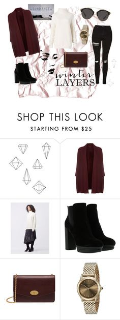 """""""sundance film festival"""" by almahurtic ❤ liked on Polyvore featuring Umbra, Eileen Fisher, Diane Von Furstenberg, Hogan, Mulberry, Emporio Armani and Christian Dior"""