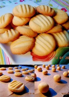 ♨ Pelusiowa Kuchnia ♨: Łatwe i szybkie ciasteczka maślane... No Bake Cookies, Cake Cookies, Sweet Little Things, Breakfast Menu, Healthy Cake, Polish Recipes, Pasta, Hot Dog Buns, Kids Meals