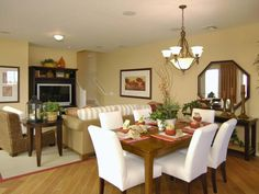 White Dining Room Chairs : PDI : Dining Rooms : Pro Galleries : HGTV Remodels