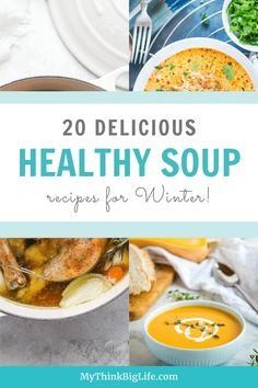 There's nothing better on a cold winter's day than to enjoy a nice warm bowl of soup. That's why I wanted to round-up some delicious and healthy soup recipes for you to try.  These recipes are perfect for those of you who love a great paleo, Whole30, or Keto soup! They not only fill you up; they are good for you!