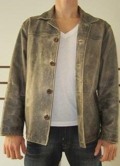 Kaufe meinen Artikel bei #Kleiderkreisel http://www.kleiderkreisel.de/herrenmode/mantel-and-jacken-sonstiges/84584818-rustikale-lederjacke-kaum-getragen