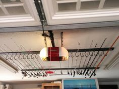 Fishing Rod Storage DIY How To! Love And Spray Paint: Hanging Around The  Garage
