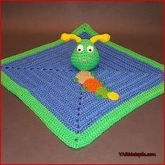 Crochet Tutorial: Caterpillar Lovey « YARNutopia by Nadia Fuad