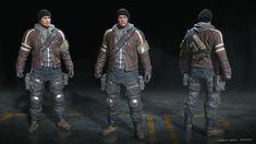 ArtStation - Afterpulse - game character - Covert A., Mauricio Garces