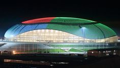 bolshoy ice dome - Where the games will be played.   #sochi