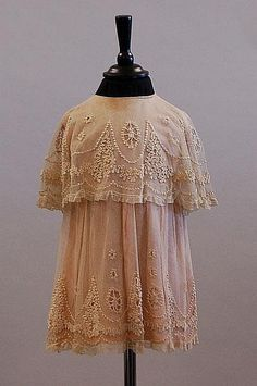 1900-1920 girl's dress via Kerry Taylor Auctions.