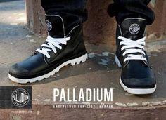 PALLADIUM BLANC HI LEATHER