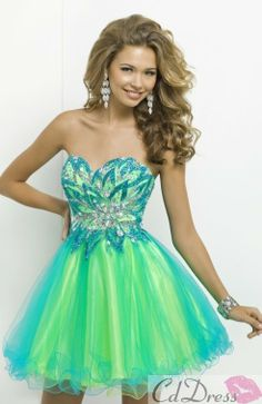 Prom / Cocktail Party / Homecoming / Sweet 16 Dress - Multi-color ...
