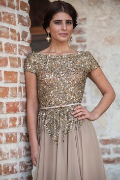 Gorgeous Beautiful Gold Oscar Silk Luxurious by AtelierAmbience, $849.00