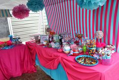 candy buffet ideas | ... Crafts » Blog Archive » Masquerade Party Ideas? (Candy Buffet