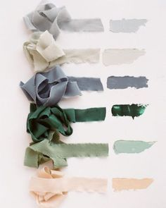 "lifeasawaterelement: ""  tono & co. A color story featuring (from top to bottom) SKY 