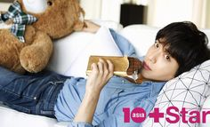 Jung Yong Hwa for 10+ Star March 2015