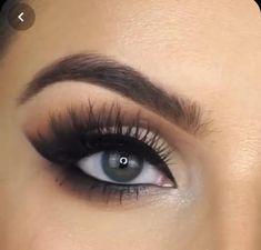 Makeup Eye Looks, Simple Eye Makeup, Makeup For Brown Eyes, Natural Makeup, Brown Eyes Eyeshadow, Makeup Hacks, Makeup Tips, Beauty Makeup, 60s Makeup