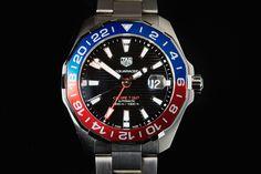 TAG Heuer Aquaracer GMT Pepsi Bezel