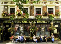 Sherlock Holmes Restaurant - WHERE is this?!?! This is going straight to the top of my bucket list <3