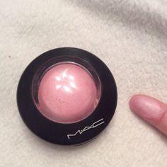 Mac mineralized blush, just a wisp