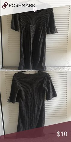 Sweater dress Sweater dress can be pair with legging and boots for an instant outfit Sweaters Crew & Scoop Necks