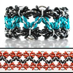 DIY Jewelry Chainmaille Tutorial Kit | Hex Path Cuff | Blue Buddha Boutique