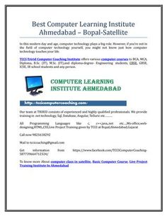 Best computer learning institute ahmedabad – bopal satellite