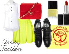 """Amity Faction"" by buknerd on Polyvore"