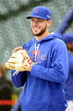 Kris Bryant plays at 3rd base on the Chicago Cubs and doesn't miss many plays. He is really good at the thins he does. This is his first full year playing in MLB and he has played every position except pitcher and catcher, which not many can do, especially being here not very long.