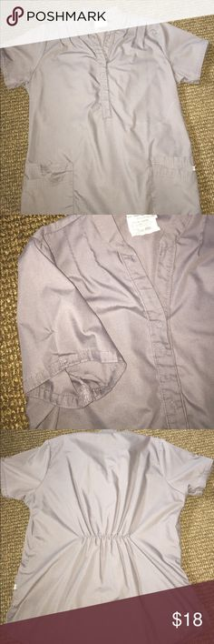 Greystone scrub top and pant set Gently used in great condition Butter-Soft scrubs by UA Other