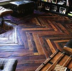 Parquet, You Say? 10 Stunning Wood Floor Patterns: How About Herringbone?