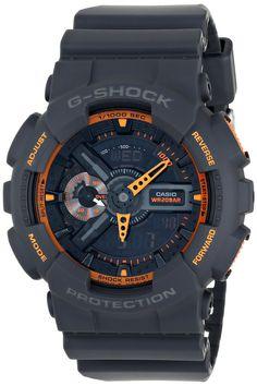 Casio Men's G-Shock Analog-Digital Display Quartz Grey Watch Casio G Shock Watches, Casio Watch, Cool Watches, Watches For Men, Grey Watch, Mens Sport Watches, Digital Watch, Luxury Watches, Mens Fashion