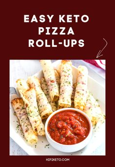 Weight Loss Plans Clean Eating Easy Keto Pizza Roll Ups (Only 2 Ingredients Needed!Weight Loss Plans Clean Eating Easy Keto Pizza Roll Ups (Only 2 Ingredients Needed! Low Carb Pizza, Low Carb Keto, Low Carb Recipes, Diet Recipes, Healthy Recipes, Diet Pizza, Roll Ups Recipes, Ketogenic Recipes, Ketogenic Diet