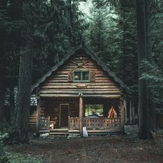 My dream cabin in the woods. Hopefully propped up in VT. My dream cabin in the woods. Hopefully propped up in VT. Ideas De Cabina, Cabin In The Woods, Cottage In The Woods, Little Cabin, Log Cabin Homes, Tiny Log Cabins, Small Log Cabin, Rustic Cabins, Forest House