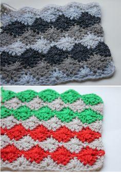 Patrones Crochet: Patrones de Puntos Variados