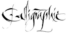 CALLIGRAPHY by Type Lovers, via Behance