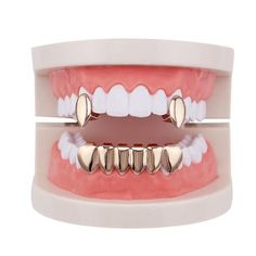 Product Specifics Fine or Fashion:FashionItem Type:Body JewelryShape\pattern:GeometricMetals Type:CopperModel Jewelry Type:Grillz, Dental GrillsStyle:Hiphop/Rockmaterial:copper Vampire Grillz, Fang Grillz, Gold Teeth Grillz, Girl Grillz, Vampire Fangs, Gold Fangs, Diamond Grillz, Gold Grill, Grills Teeth