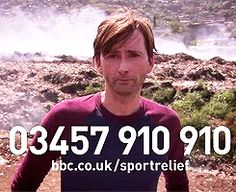 David Tennant visited Sierra Leone last year to discover how money raised goes towards improving the lives of people in need.  During his visit he was shocked to meet orphaned brothers Alusine and Mohamed who live with their sick grandmother and eke out an existence picking over burning rubbish on a toxic dump.