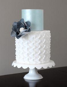 Elaborate Ruffle Birthday Cakes No Fondant