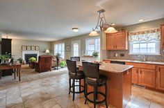 Beautiful kitchen - Gorgeous home with 4 Bedrooms, 3 Baths (2 Full, 1 Half) and 2,404 Sq. Ft. Home is located in Palmyra PA and is available for purchase.