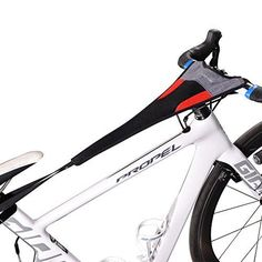 RockBros Bicycle Trainer Sweat Net Frame Guard Absorbs Sweat Black Red ** Continue to the product at the image link.
