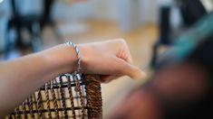 bracelet argent fait à la main dans des ateliers parisiens