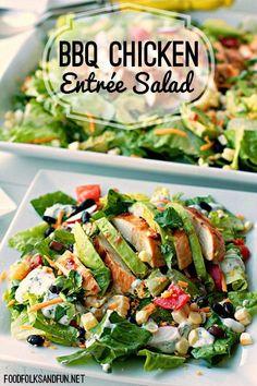 Easy entree salad recipes