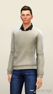 My Sims 4 Blog: Sweaters for Males by Rusty Nail