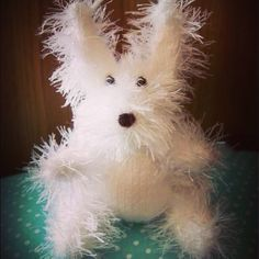 Cute knitted Bunny.