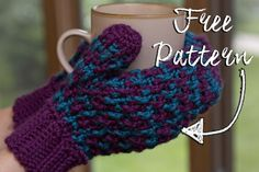 I can't say how excited I am to release these for several reasons! One, I love these mittens! They're quick, fun and have a personality all on their own! Two, I love knowing this patter…