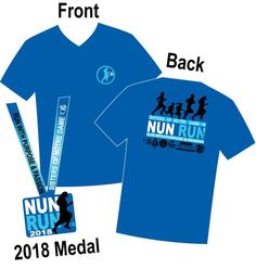 Collect our finisher medals and custom Tshirts each year!