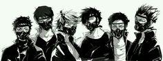 Haikyuu!! - Moniwa, Ushijima, Oikawa, Kuroo, Daichi & Bokuto