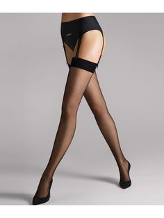 Beautiful Legs, Gorgeous Women, Black Hold, Nylons, Stocking Tops, Stockings Lingerie, Bare Necessities, Wolford, Hold Ups